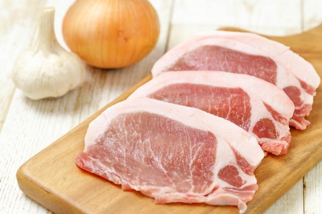 豚のロース肉