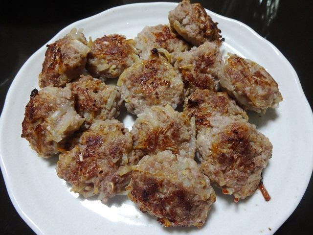 豚挽き肉とモヤシのつみれ